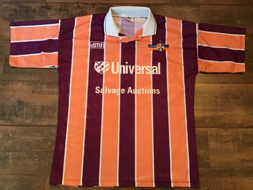 1992 1993 Luton Town Away Football Shirt Large